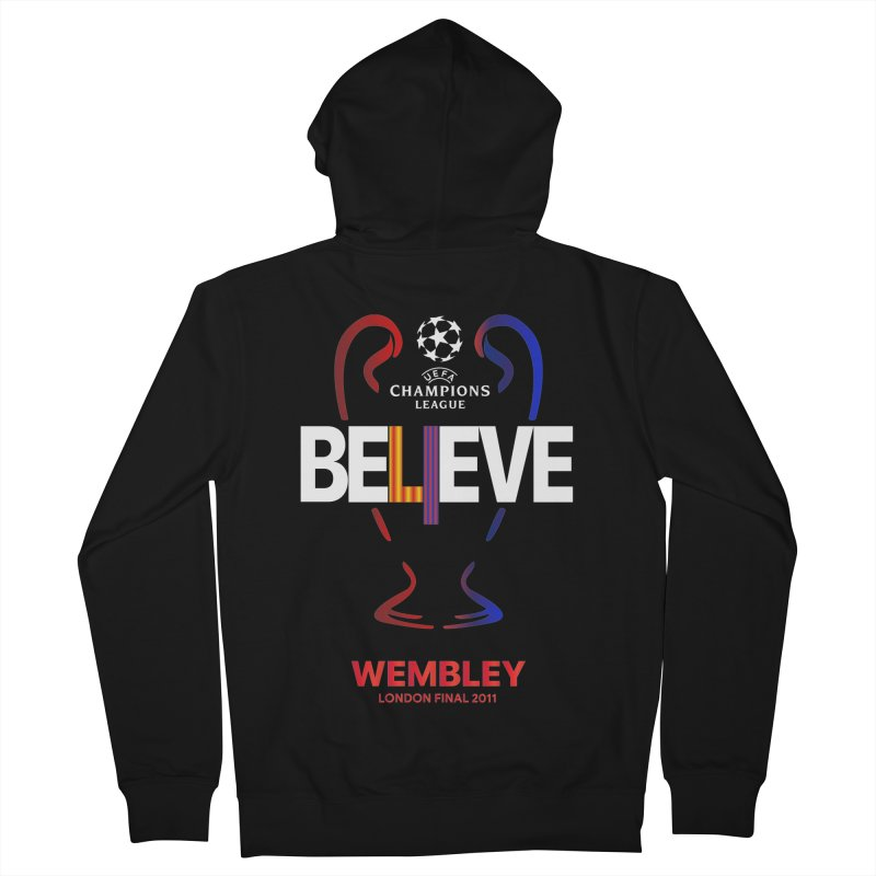 Wembley Final 2011 Men's Zip-Up Hoody by BM Design Shop