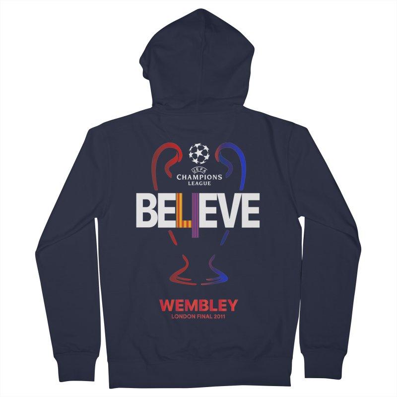 Wembley Final 2011 Men's Zip-Up Hoody by BM Design Shop