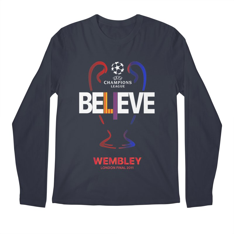 Wembley Final 2011 Men's Longsleeve T-Shirt by BM Design Shop