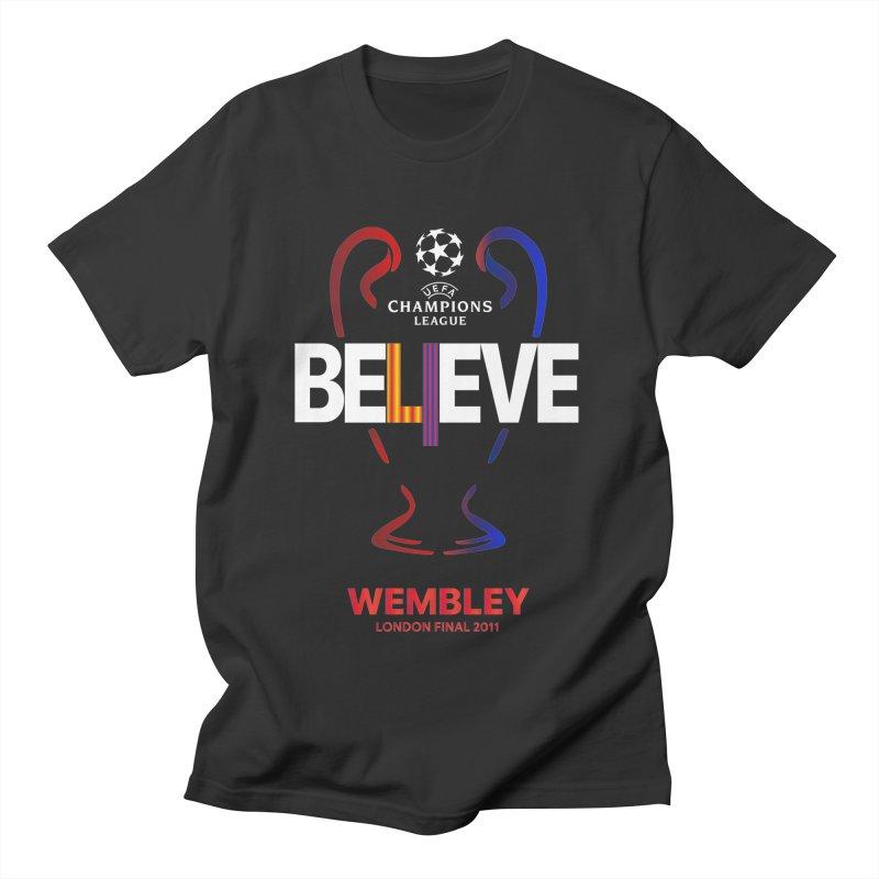 Wembley Final 2011 Men's T-Shirt by BM Design Shop