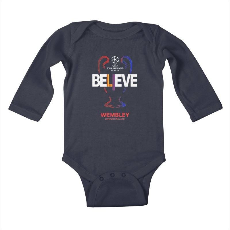 Wembley Final 2011 Kids Baby Longsleeve Bodysuit by BM Design Shop