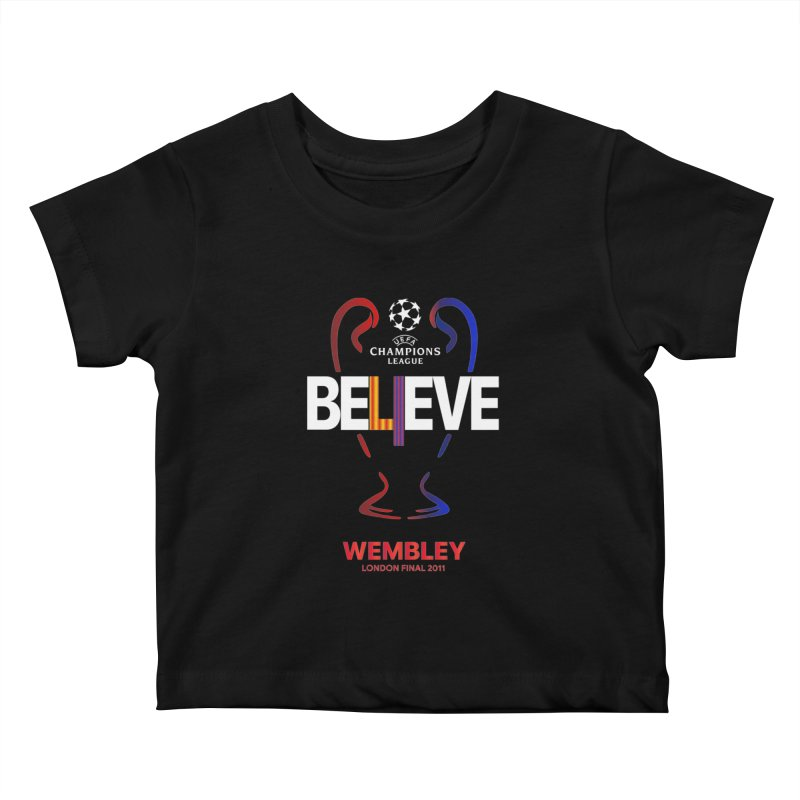 Wembley Final 2011 Kids Baby T-Shirt by BM Design Shop