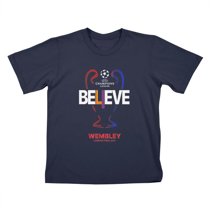 Wembley Final 2011 Kids T-Shirt by BM Design Shop