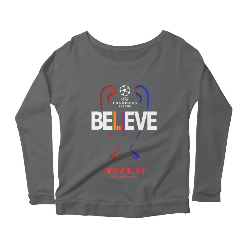 Wembley Final 2011 Women's Longsleeve T-Shirt by BM Design Shop
