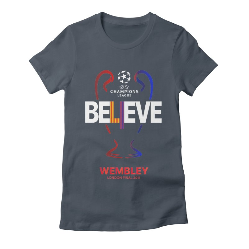 Wembley Final 2011 Women's T-Shirt by BM Design Shop
