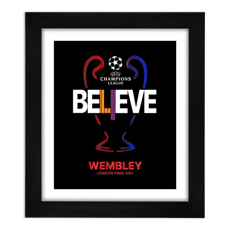 Wembley Final 2011 Home Framed Fine Art Print by BM Design Shop