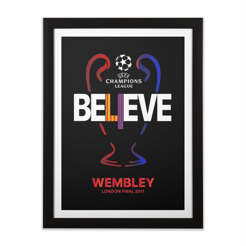 Wembley Final 2011 Home Framed Fine Art Print by BM Design Shop