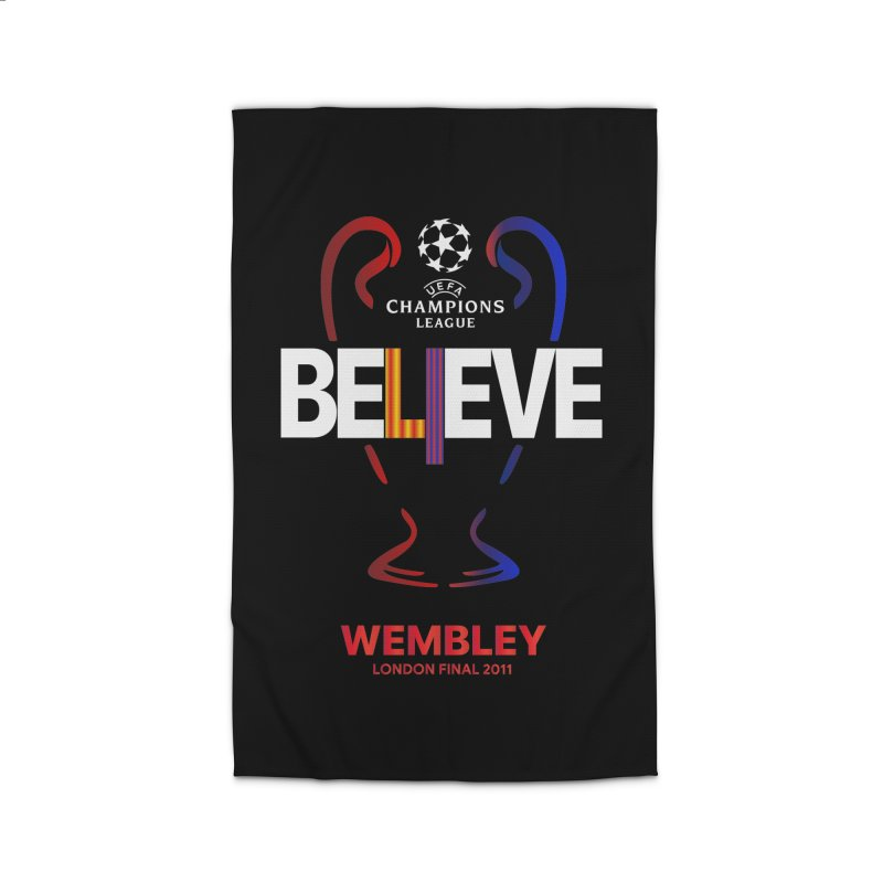 Wembley Final 2011 Home Rug by BM Design Shop