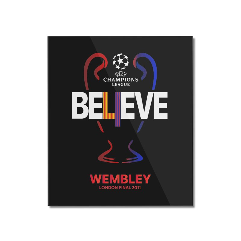 Wembley Final 2011 Home Mounted Acrylic Print by BM Design Shop