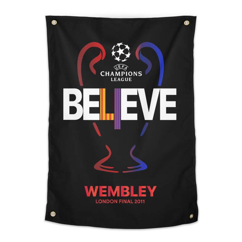 Wembley Final 2011 Home Tapestry by BM Design Shop