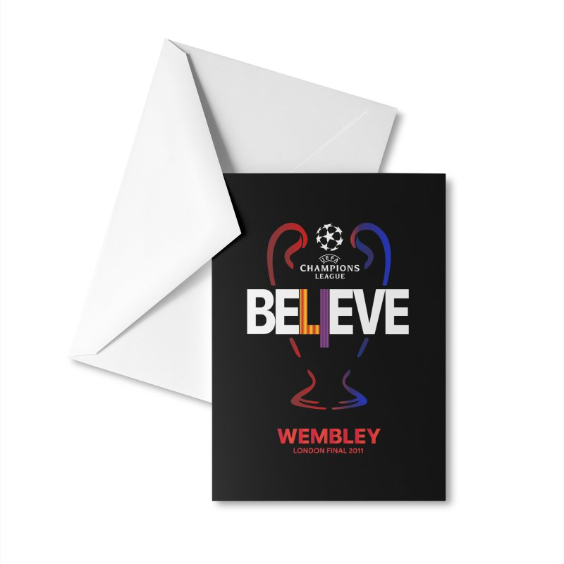 Wembley Final 2011 Accessories Greeting Card by BM Design Shop