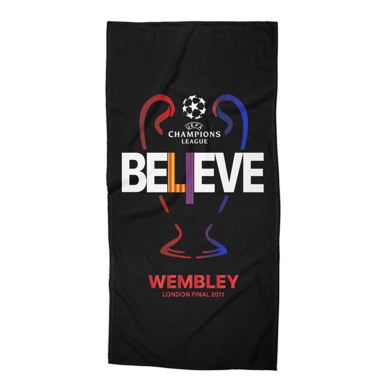Wembley Final 2011 Accessories Beach Towel by BM Design Shop