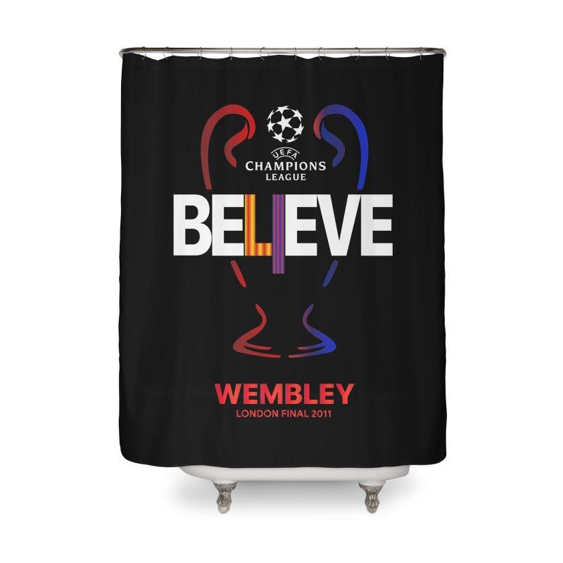 Wembley Final 2011 Home Shower Curtain by BM Design Shop