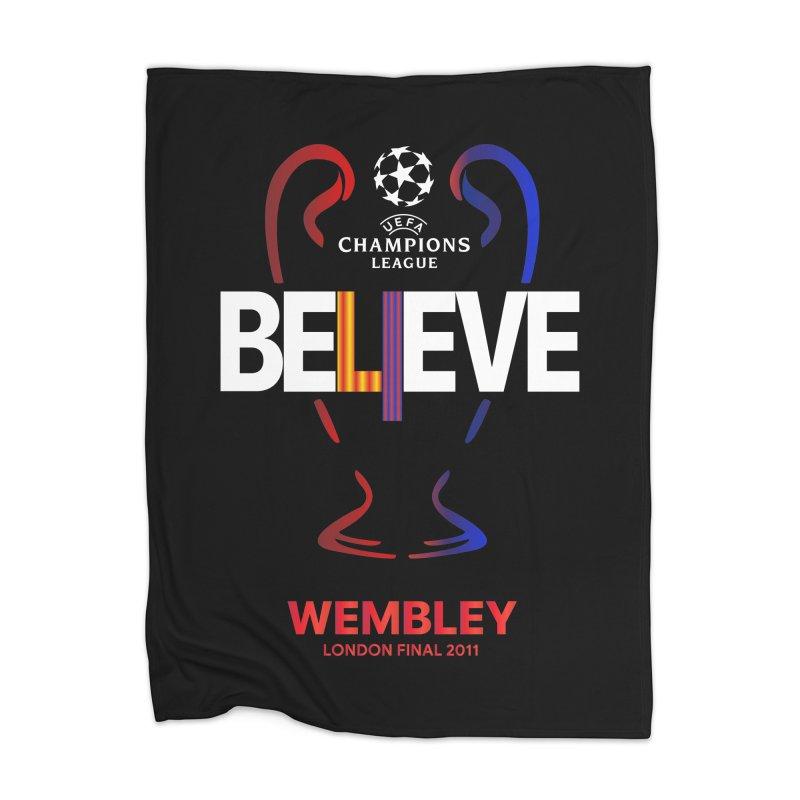 Wembley Final 2011 Home Blanket by BM Design Shop
