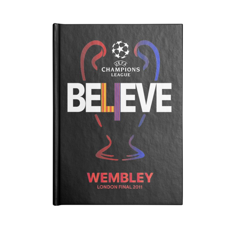 Wembley Final 2011 Accessories Notebook by BM Design Shop