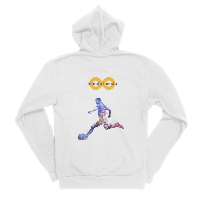 Infinite Iniesta Men's Zip-Up Hoody by BM Design Shop