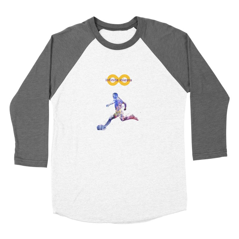 Infinite Iniesta Men's Longsleeve T-Shirt by BM Design Shop