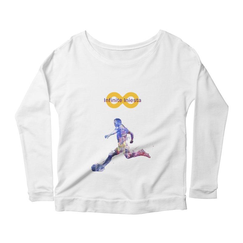 Infinite Iniesta Women's Longsleeve T-Shirt by BM Design Shop