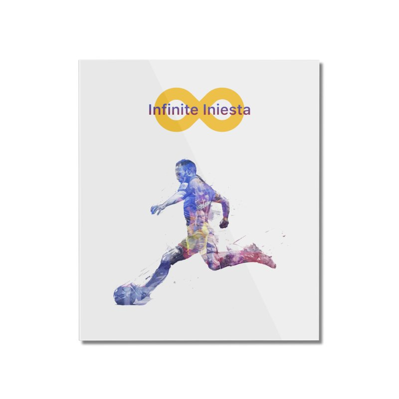 Infinite Iniesta Home Mounted Acrylic Print by BM Design Shop