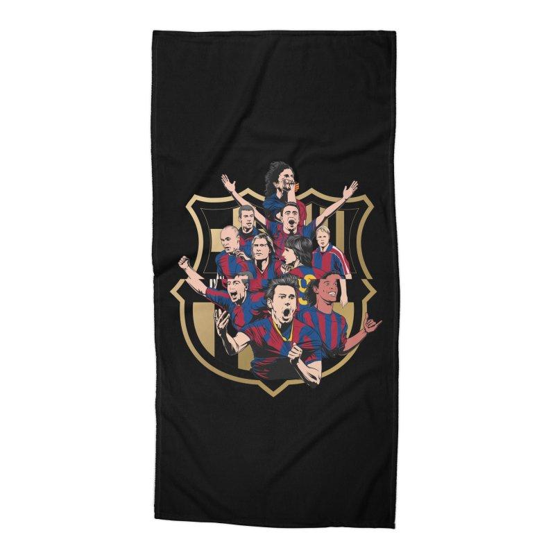 Legends FCB Accessories Beach Towel by BM Design Shop