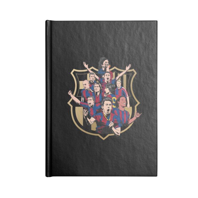 Legends FCB Accessories Notebook by BM Design Shop