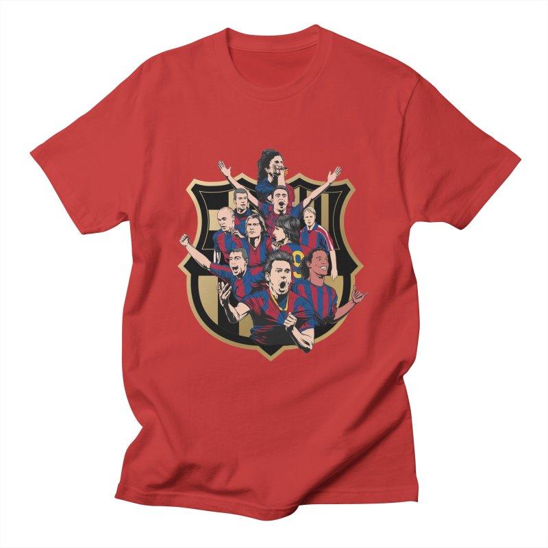 Legends FCB Men's T-Shirt by BM Design Shop