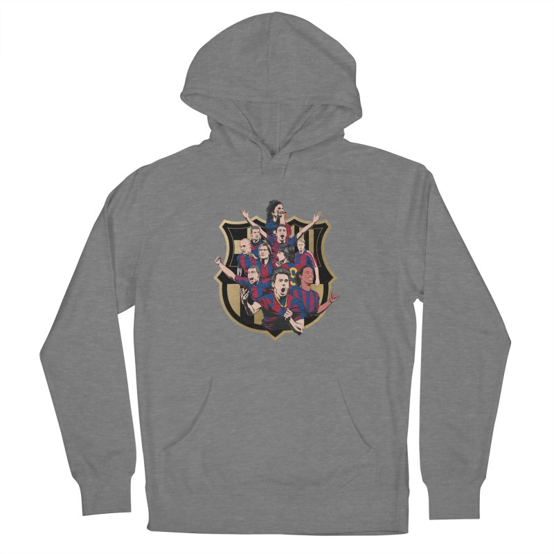 Legends FCB Men's Pullover Hoody by BM Design Shop