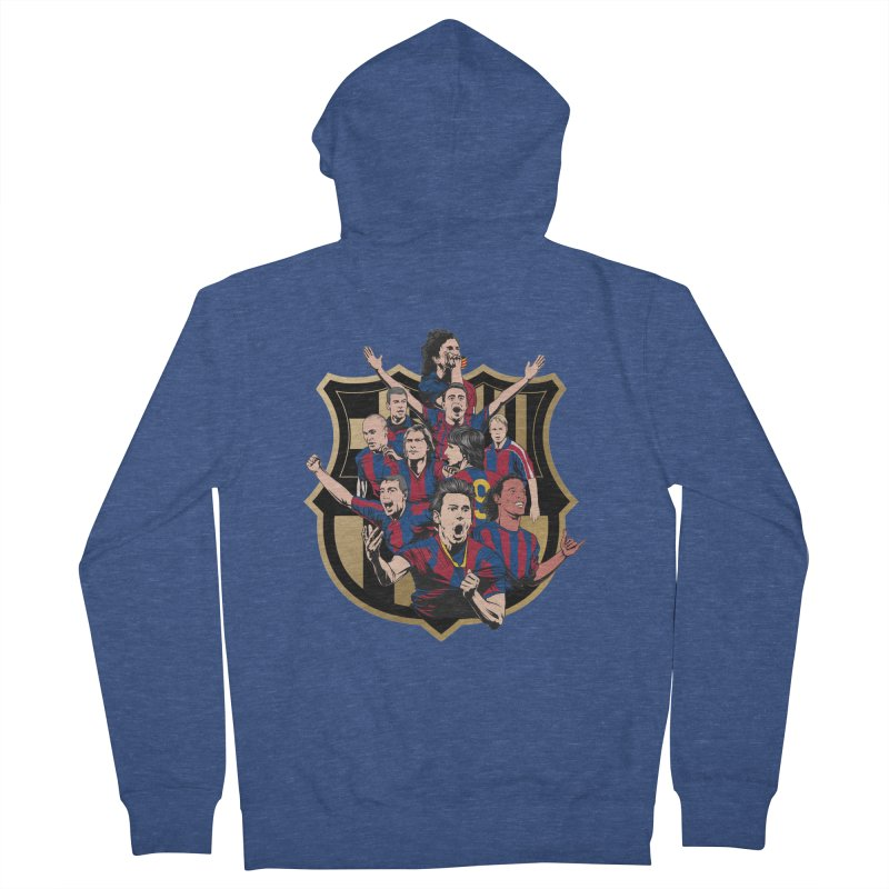 Legends FCB Women's Zip-Up Hoody by BM Design Shop