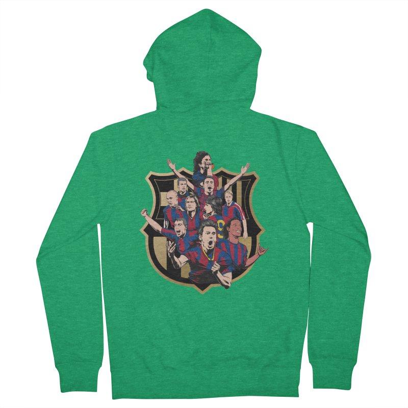Legends FCB Men's Zip-Up Hoody by BM Design Shop