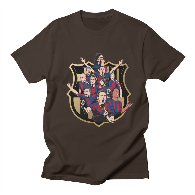 Legends FCB Men's T-Shirt by BM Design Shop