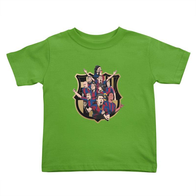 Legends FCB Kids Toddler T-Shirt by BM Design Shop