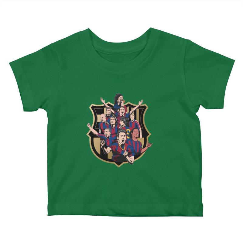 Legends FCB Kids Baby T-Shirt by BM Design Shop