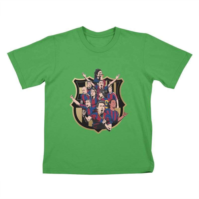 Legends FCB Kids T-Shirt by BM Design Shop