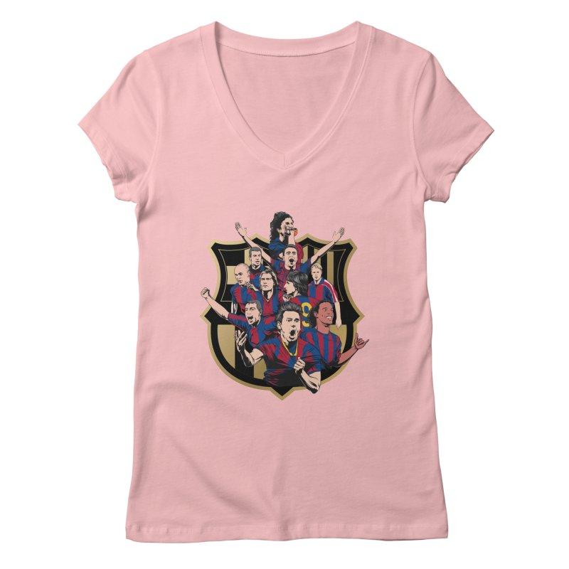Legends FCB Women's V-Neck by BM Design Shop