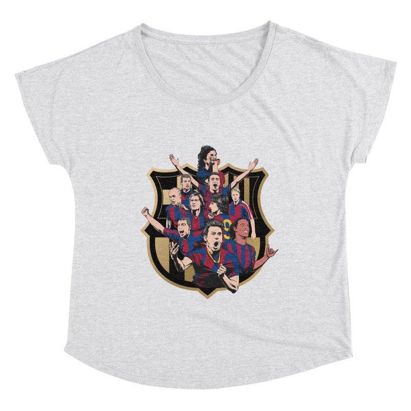 Legends FCB Women's Scoop Neck by BM Design Shop