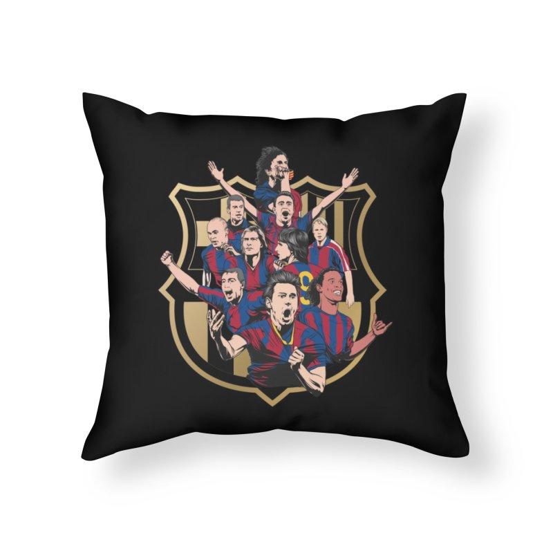 Legends FCB Home Throw Pillow by BM Design Shop