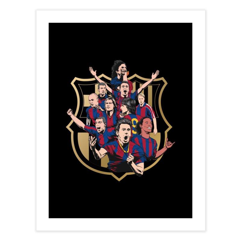 Legends FCB Home Fine Art Print by BM Design Shop