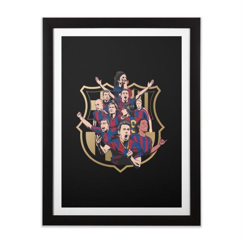 Legends FCB Home Framed Fine Art Print by BM Design Shop