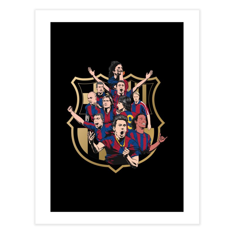 Legends FCB Home Fine Art Print by BM Design Shop