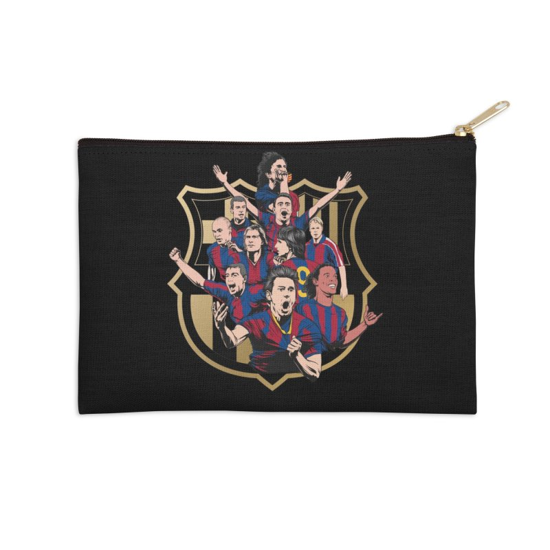 Legends FCB Accessories Zip Pouch by BM Design Shop