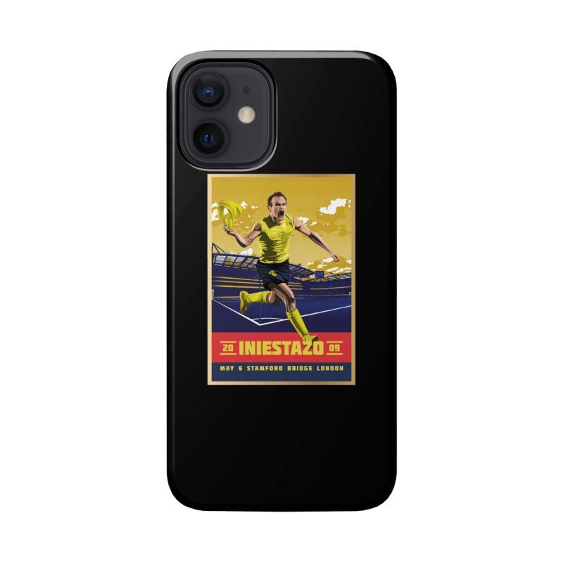 Iniestazo Frame Accessories Phone Case by BM Design Shop