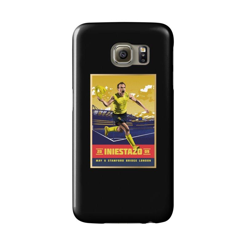 Iniestazo Frame Accessories Phone Case by BM Design Shop