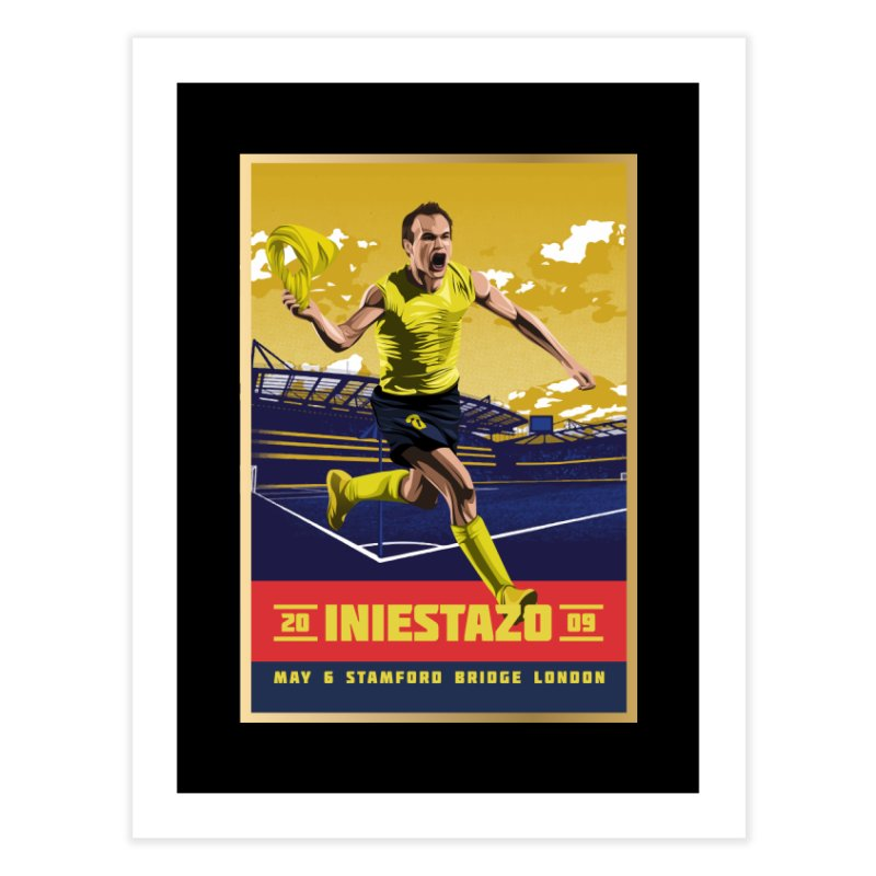 Iniestazo Frame Home Fine Art Print by BM Design Shop