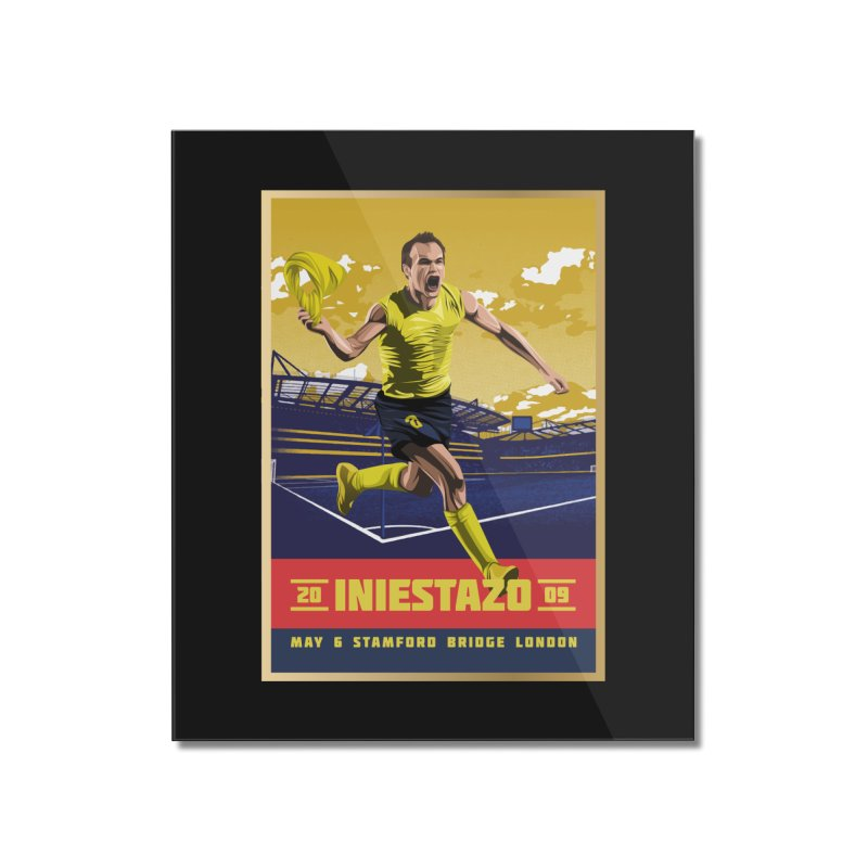Iniestazo Frame Home Mounted Acrylic Print by BM Design Shop