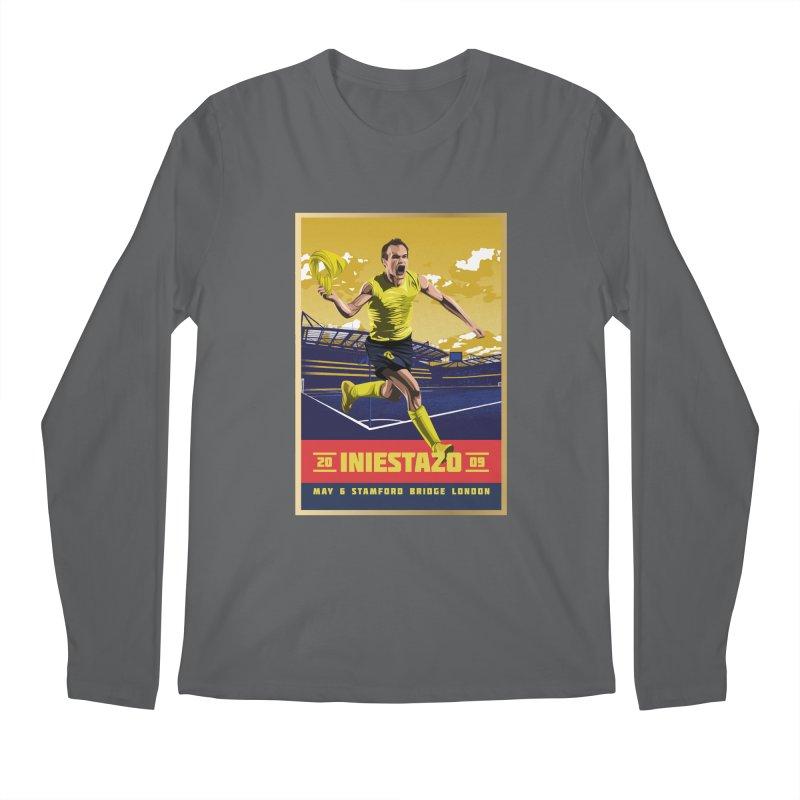Iniestazo Frame Men's Longsleeve T-Shirt by BM Design Shop