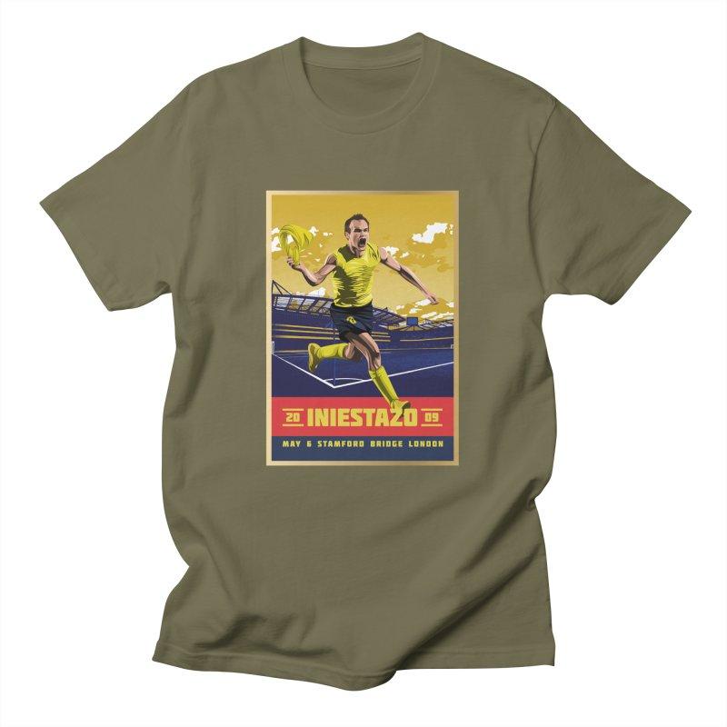 Iniestazo Frame Men's T-Shirt by BM Design Shop