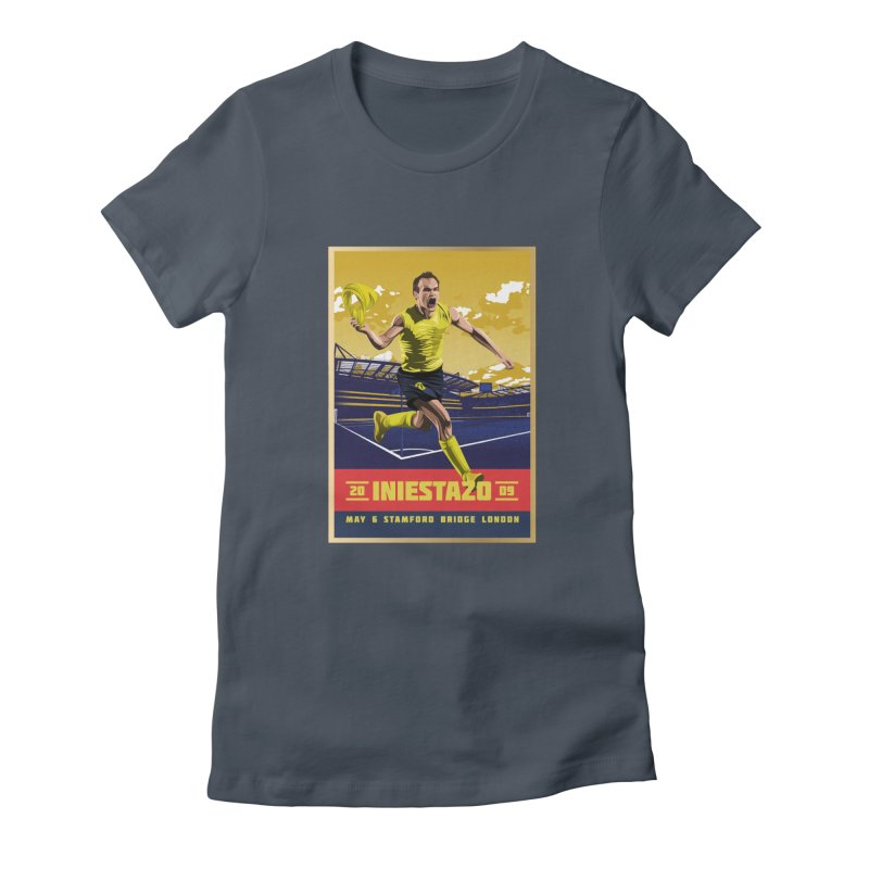 Iniestazo Frame Women's T-Shirt by BM Design Shop