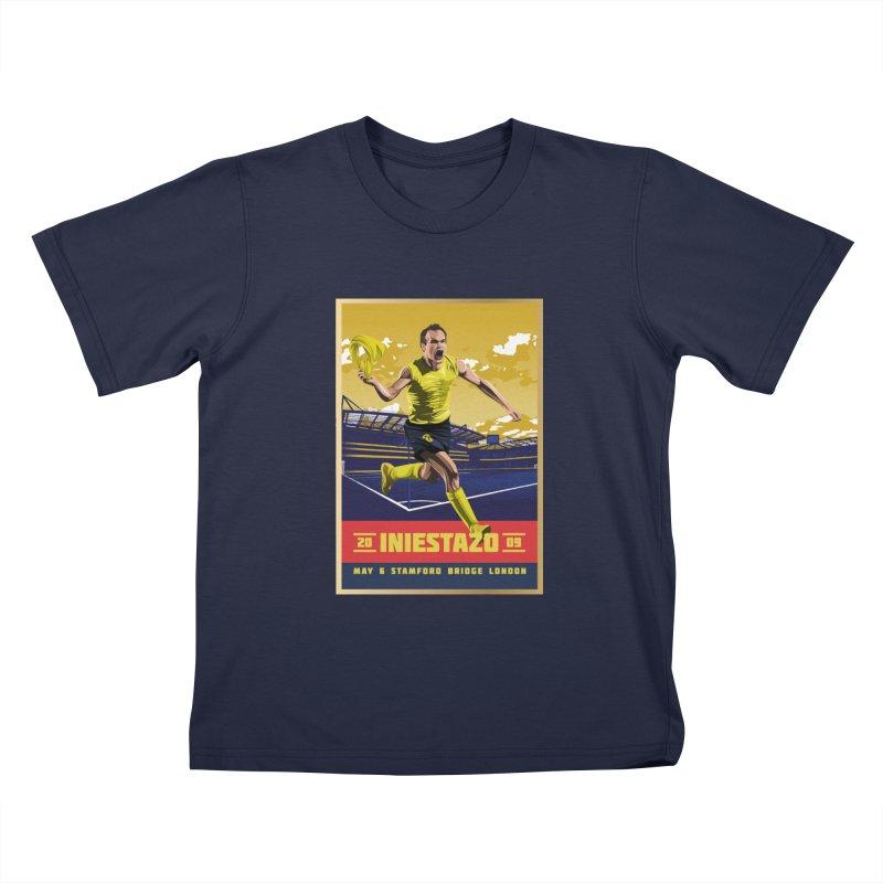 Iniestazo Frame Kids T-Shirt by BM Design Shop