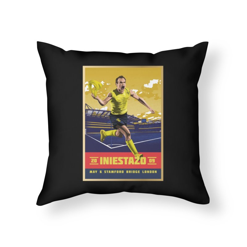 Iniestazo Frame Home Throw Pillow by BM Design Shop