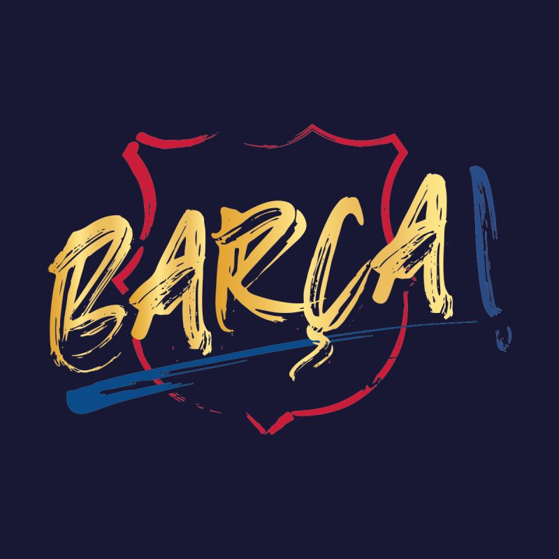 Barca! Men's Sweatshirt by BM Design Shop